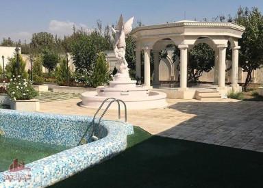 1250 متر باغ ویلا منطقه سرسبز شهریار